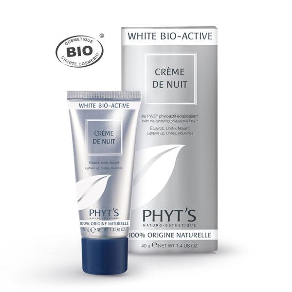 creme nuit white bio active phyts